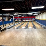 6 lanes with mechanical pinsetters.