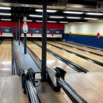 Though the bowling alley is very old, the lanes were resurfaced just a few years ago.