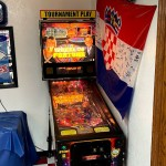 Random pinball machine