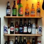 The bar's beer selection